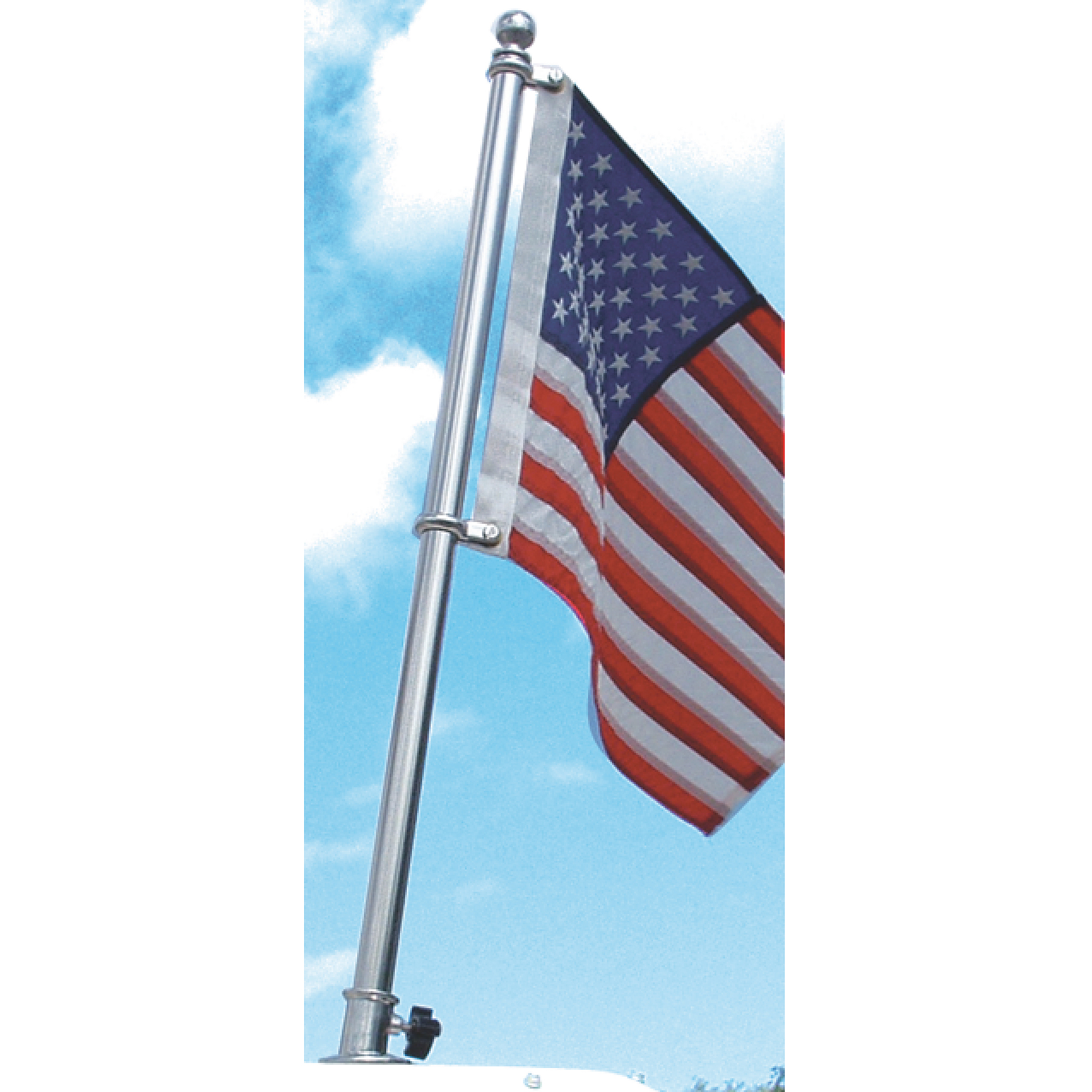 "Taylor Stainless Steel Flag Pole, 1"" Diameter"