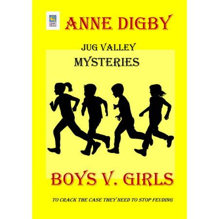 Jug Valley Mysteries BOYS v GIRLS - eBook - Valley Girl Size Chart