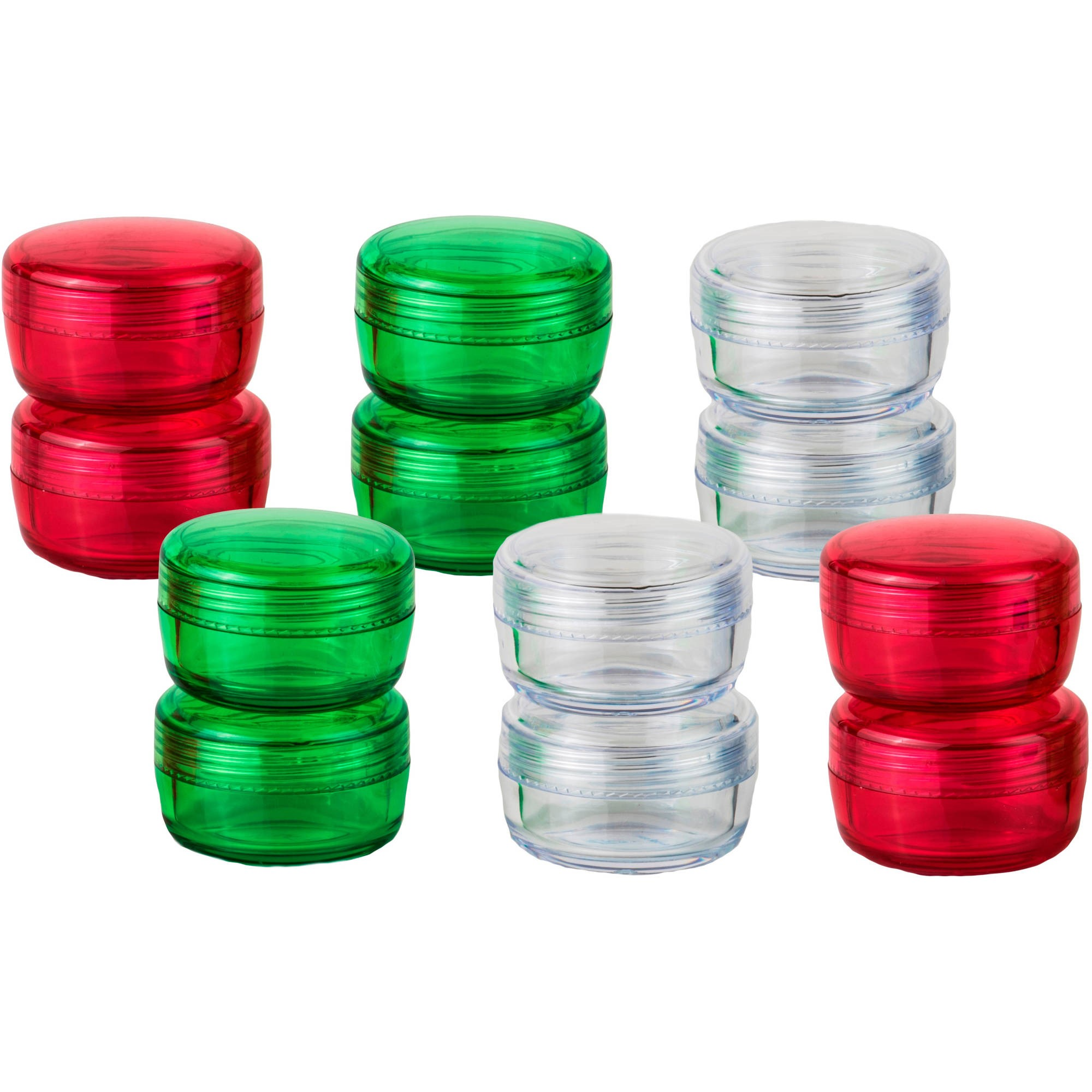 iGo Travel Container Jars Bundle Pack, 12 count