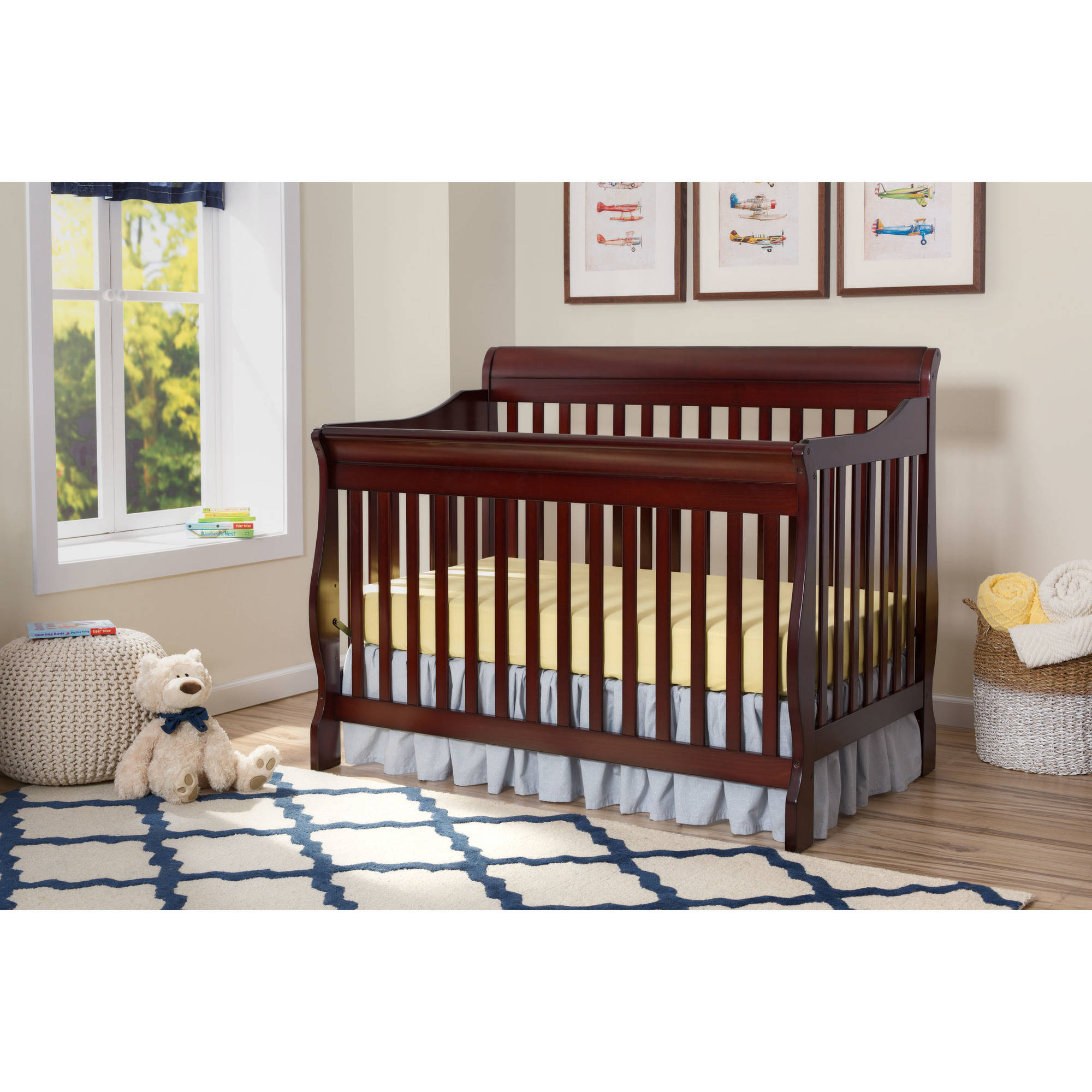 Delta - Canton 4-in-1 Convertible Crib, (Choose Your Finish)