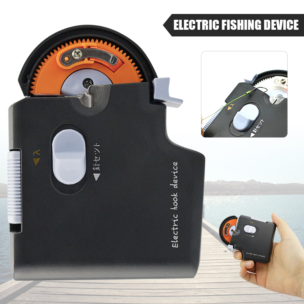 Details about  /Automatic Portable Electric Fishing Hook Tier Machine Fishing Accessories Tie
