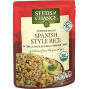 SEEDS OF CHANGE Organic Spanish Style Rice, 8.5oz