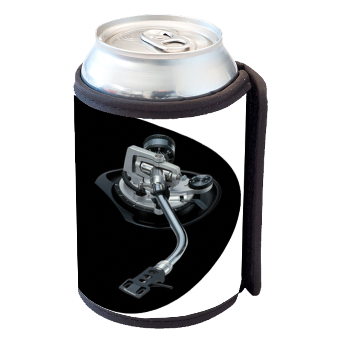 KuzmarK Insulated Drink Can Cooler Hugger - Turntable Control Arm