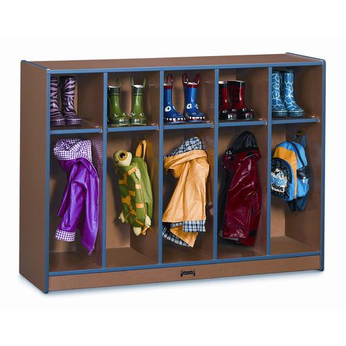 Jonti-Craft Rainbow Accents  1 Tier 5 Wide Coat Locker