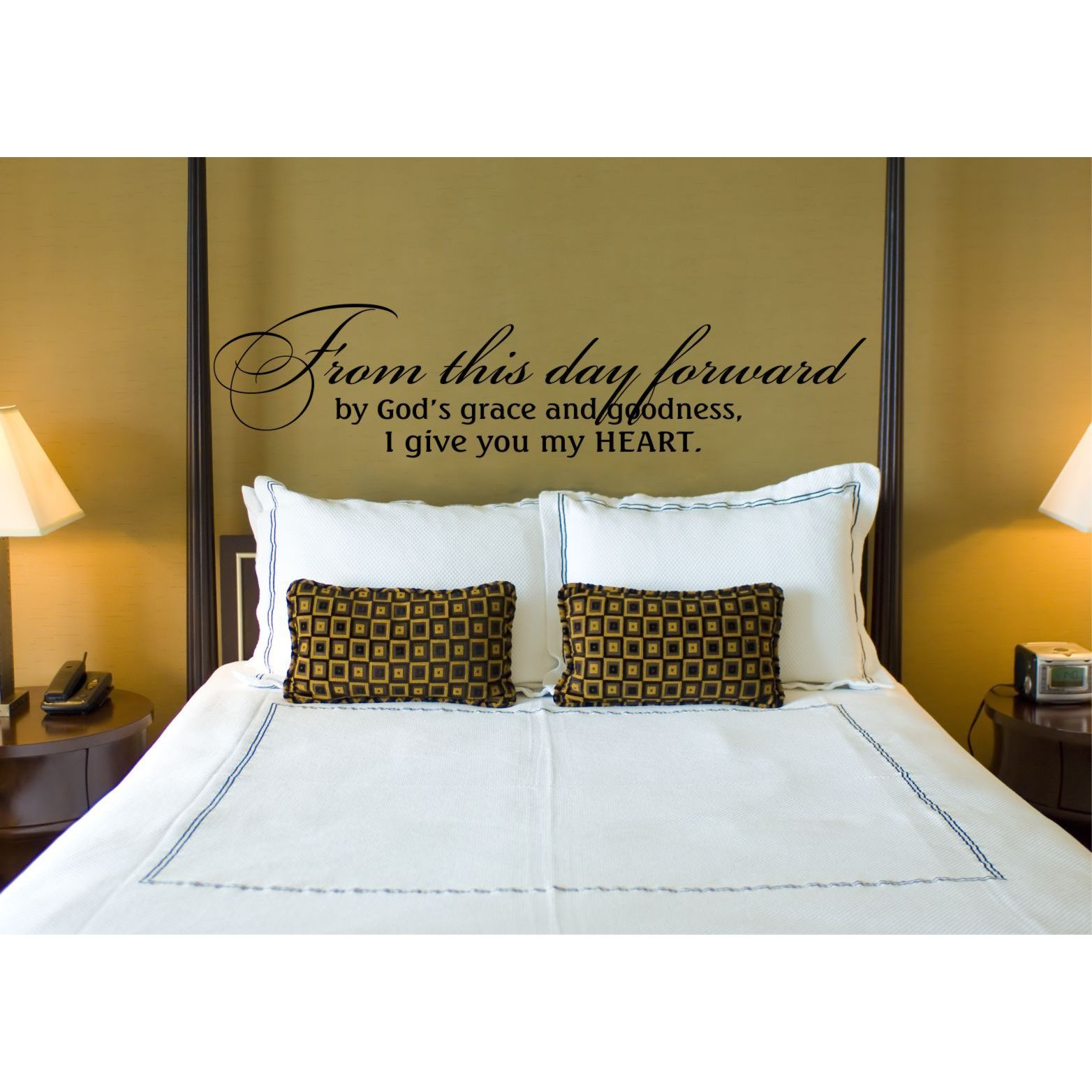 Everything Vinyl Decor From this day forward Vinyl Wall Art