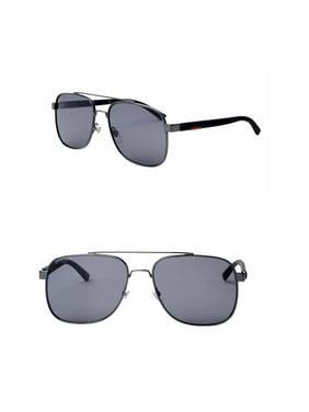 8e83debab25 Product Image Gucci GG0422S 002 Men Sunglasses 60mm (002 Ruthenium  Grey  Polarized)