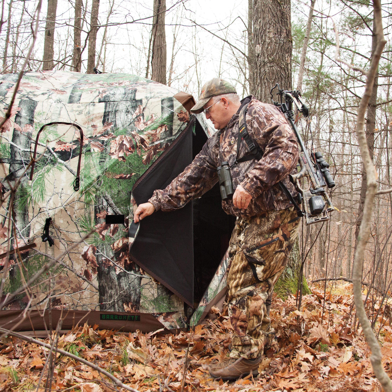 mossy blinds hunting ip ground pattern oak person backwoods bcda walmart camouflage blind com
