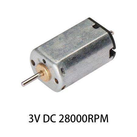 3VDC 28000RPM High-power Torque Magnetic Mini Electric Motor 2 ...