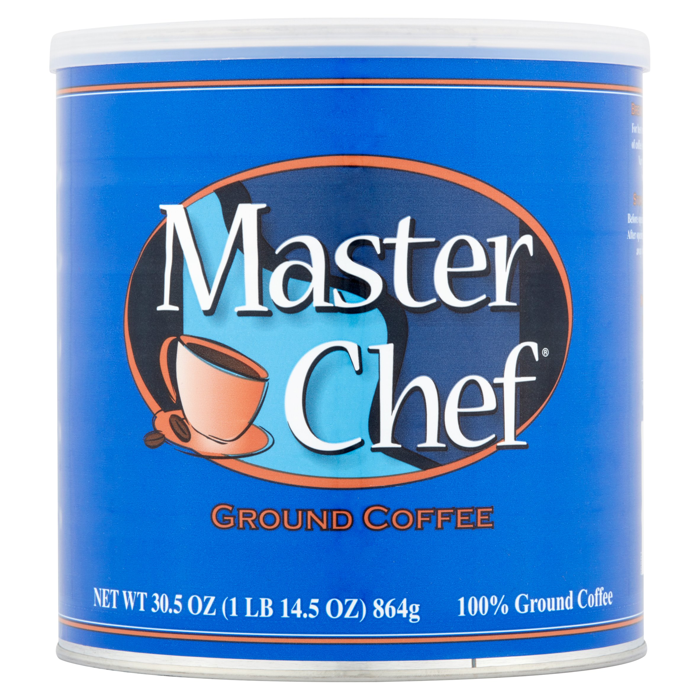 Master Chef Ground Coffee 30.5 oz. Can