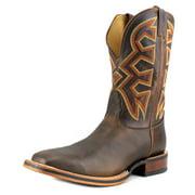 Nocona Frida Men 2E Square Toe Leather Tan Western Boot