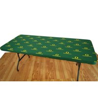 College Covers Fan Shop Oregon Ducks 6' Fitted Table Cover - 72 x 30 in