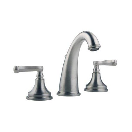 Meridian Faucets 2009220 Widespread Lavatory Faucet Lever Handles Solid Bras