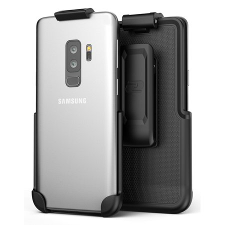 new style d7f1b 9ff85 Galaxy S9 Plus Belt Clip (case free design), Encased ClipMate² Non-Slip  Rotating Holster - for Samsung Galaxy S9+ (Smooth Black)