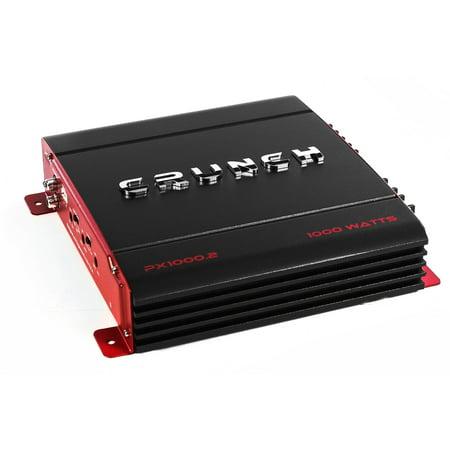 - Crunch 2 Channel 1000 Watt Amp A/B Class Car Audio Stereo Amplifier | PX-1000.2