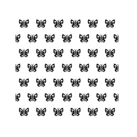 Background Embossing Folder - Spring Butterfly