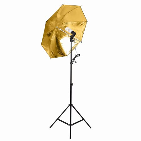 Kshioe Lighting Kit Adjustable Max Size 5 x 10 ft Background Support System 3 Color Backdrop Fabric Photo Studio Softbox Sets Continuous Umbrella Light Stand with Portable
