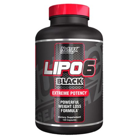 Balanced Lipo Packs - Nutrex Lipo 6 Black Extreme Potency- Powerful Weight Loss Formula (120 Capsules)