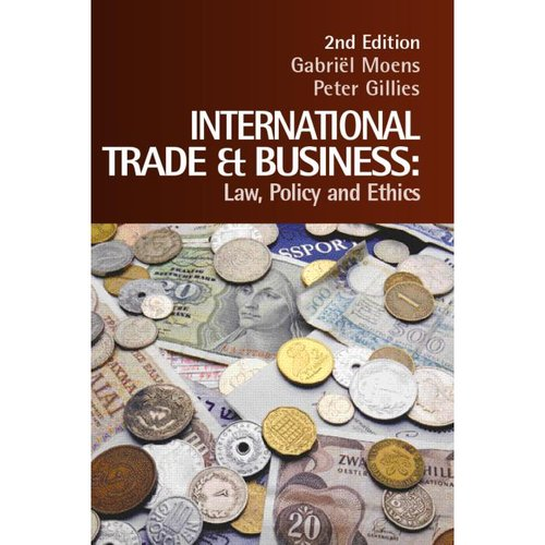 ethics of international trade International trade and labor standards: a proposal for linkage - by christian barry and sanjay g reddy lisa fuller - 2009 - ethics and international affairs 23 (1):75-78 international trade and labor standards:a proposal for linkage.