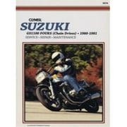 Clymer M378 Suzuki GS1100 Fours Chain Drives, 1980-1981