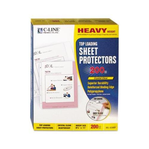 C-Line Polypropylene Top Loading Sheet Protector CLI62097