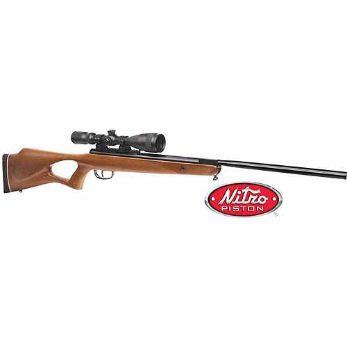 Benjamin Trail NP Hardwood .22 Caliber Break Barrel Carbine with Centerpoint 3-9x40 Scope - Powered by Nitro Piston