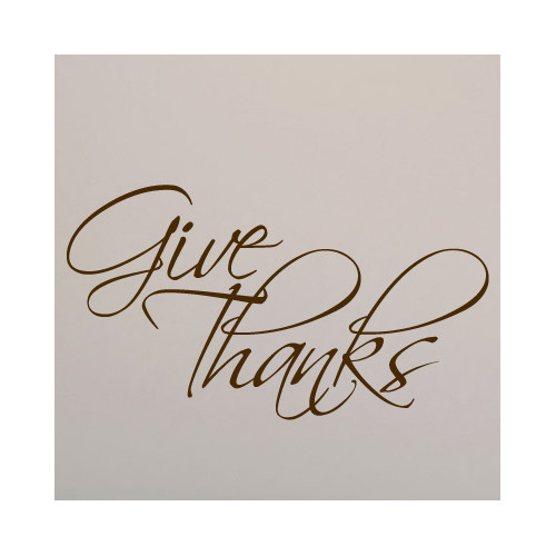 Sweetums Wall Decals Give Thanks Wall Decal