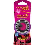 California Scents Vent Clip Coronado Cherry Car Air Freshener