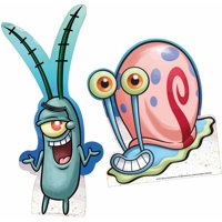 SpongeBob Plankton and Gary Standee, Set of 2