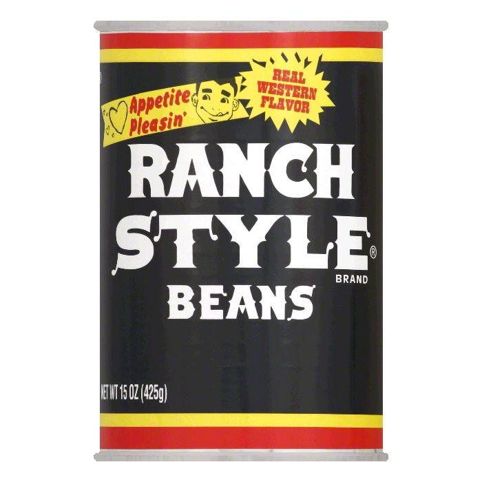 Ranch Style Beans Black Beans, 15 OZ (Pack of 12)