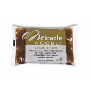 (11 Pack) Miracle Noodle Garlic and Herb Fettuccine Shirataki Pasta, 7 oz