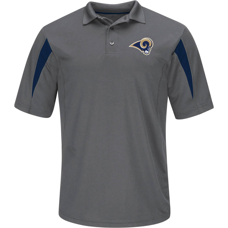 NFL Los Angeles Rams Big Men's Basic Polo