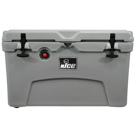 nICE CKR-514478 45 Quart Gray Cooler ()