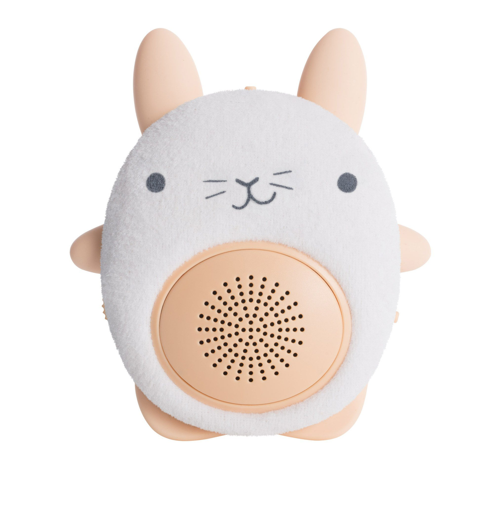 SoundBub by WavHello, White Noise Machine and Bluetooth Speaker, Portable and Rechargeable Baby Sleep Sound Soother | Bella the Bunny, White