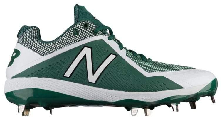 l4040v4 metal baseball shoe, green