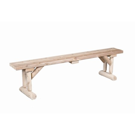 Rustic Natural Cedar Furniture Old Country 6 Ft Dining Bench