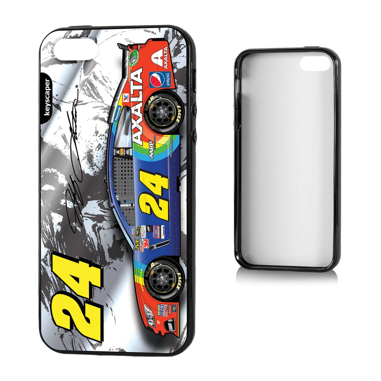 Jeff Gordon 24 Axalta Silver Apple iPhone 5 5S Bumper Case by Keyscaper