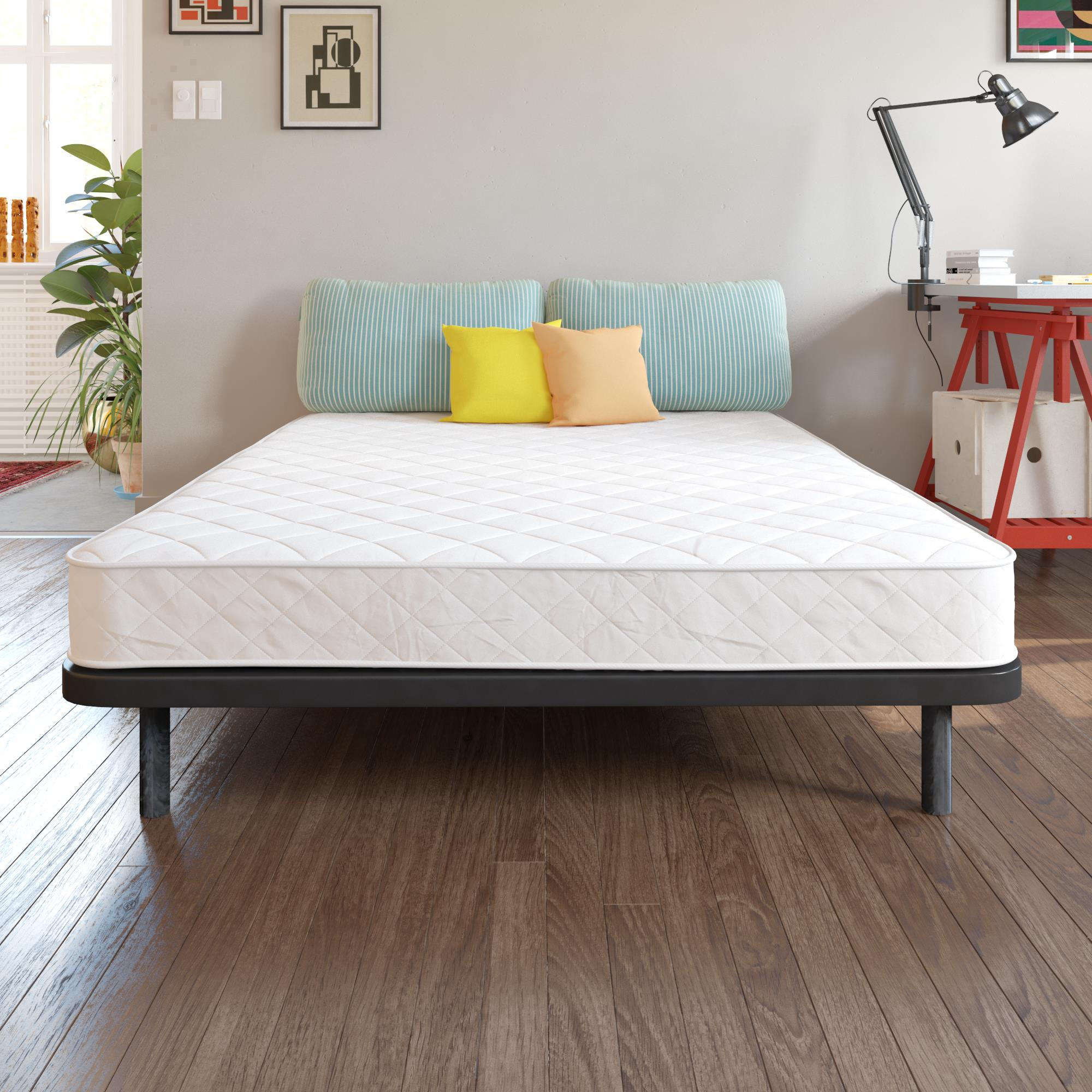 signature sleep choice 6 inch queen coil mattress. Black Bedroom Furniture Sets. Home Design Ideas
