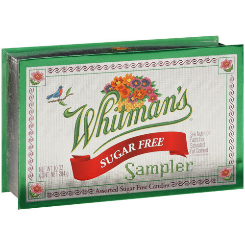 Whitman's Sugar Free Chocolate Candy Sampler, 10 Oz