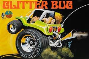 Dave Deal Glitter Bug Plastic Model Kit, This kit features massive tires By Revell Ship... by