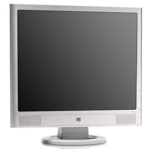 "HP VS17E 17"" LCD Flat Panel Computer Monitor With Power a..."