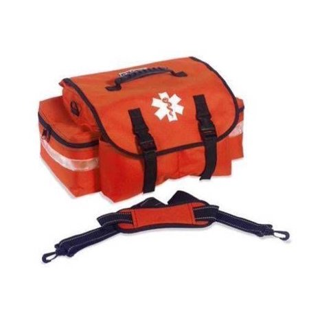 - Orange Empty Trauma First Aid Bag Medical Rescue Bags MS-10205