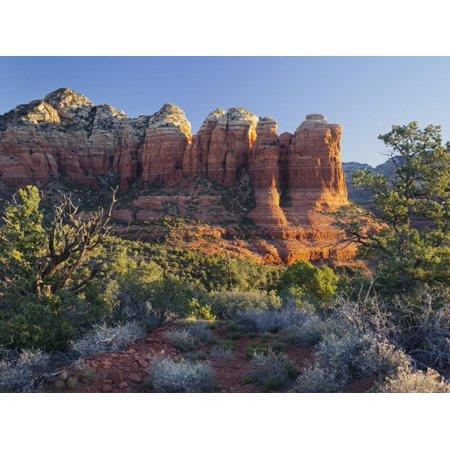 Coffe Pot Rock, Buena Vista Drive, Sedona, Arizona, Usa Print Wall Art By Rainer Mirau ()