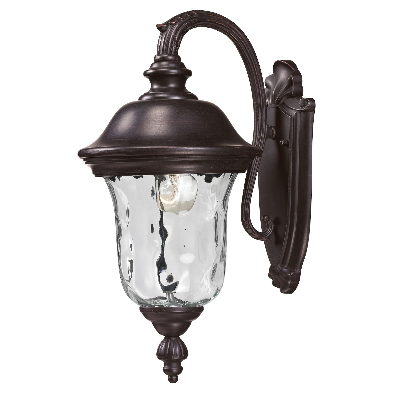 Z-Lite Armstrong Outdoor 1-Light Wall Sconce, Bronze