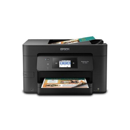 Colour Inkjet Wireless Printer - Epson WorkForce Pro WF-3720 Wireless All-in-One Color Inkjet Printer, Copier, Scanner with Wi-Fi Direct