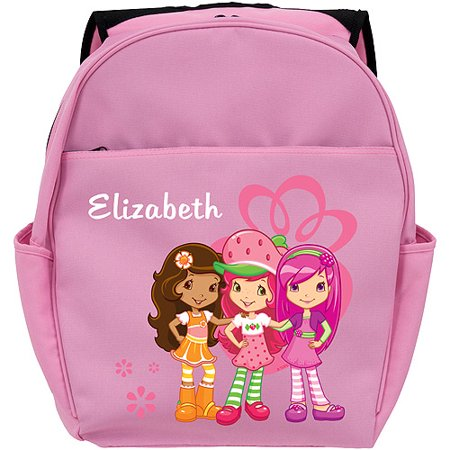 c3707c5ca4 Personalized Strawberry Shortcake Berry Friendly Pink Toddler Backpack -  Walmart.com
