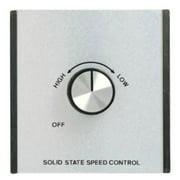 Hunter 22394 Silver Multiple Speed Fan Wall Control
