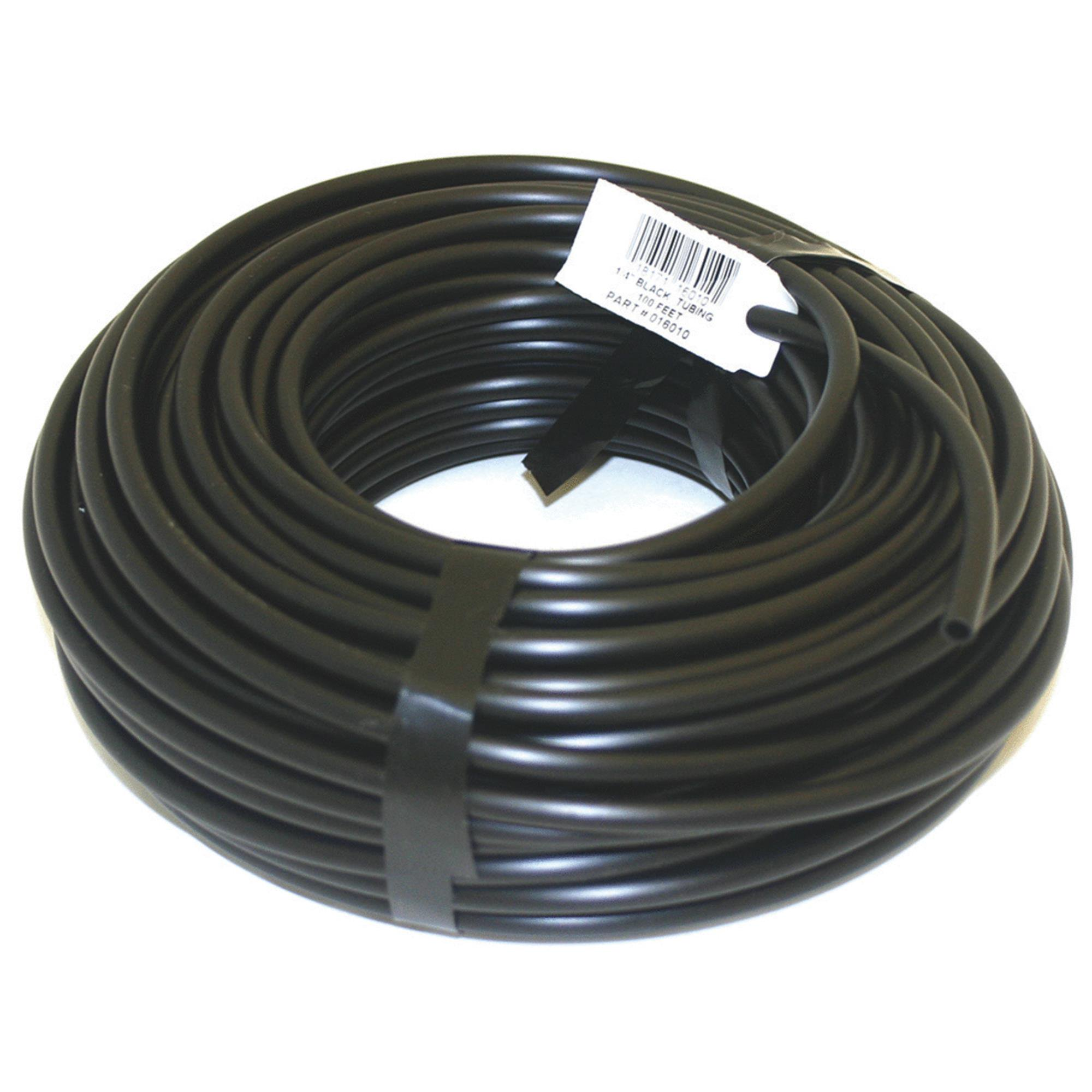 Raindrip 016010T 1/4 in X 100' Black Tubing