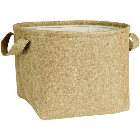 Household Essentials Round Soft-Side Burlap (Round Pond Basket)