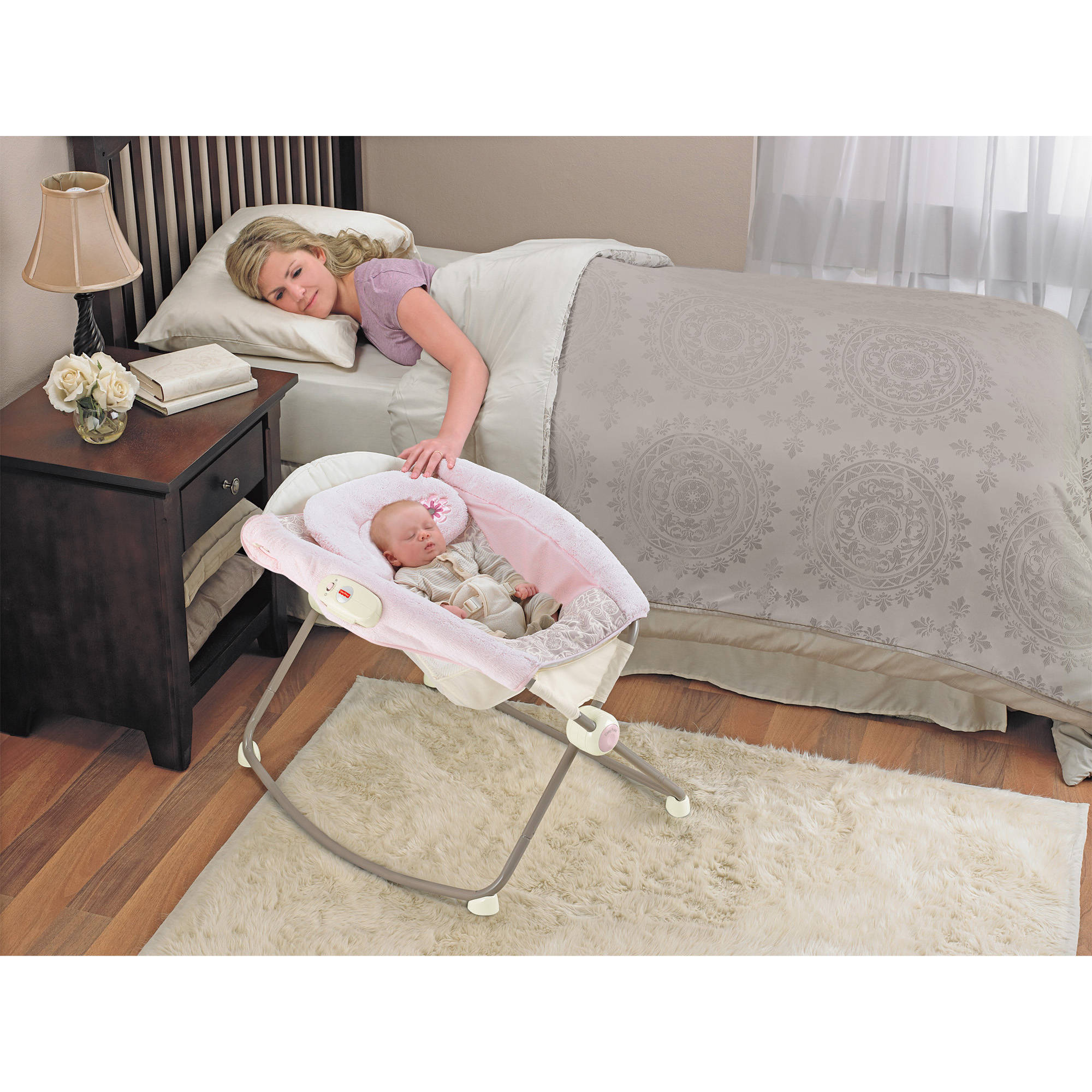 Fisher-Price My Little Sweetie Deluxe Newborn Rock 'n Play Sleeper