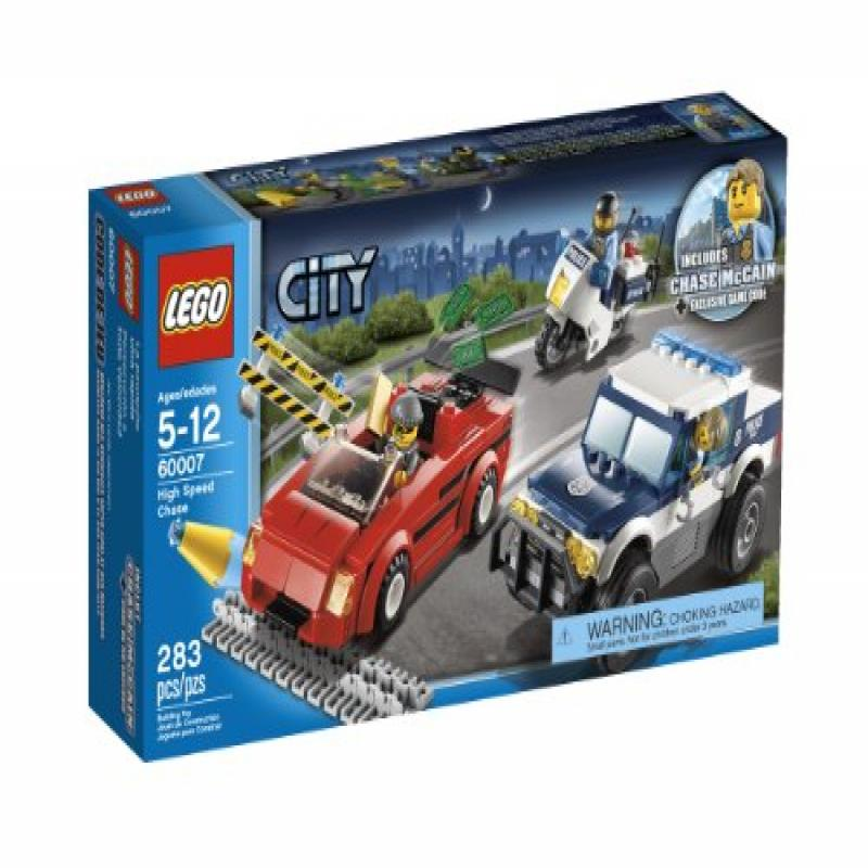 Lego City Police High Speed Chase Building Set 60007 (Dis...